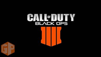 لوگو Call of duty Black ops 4