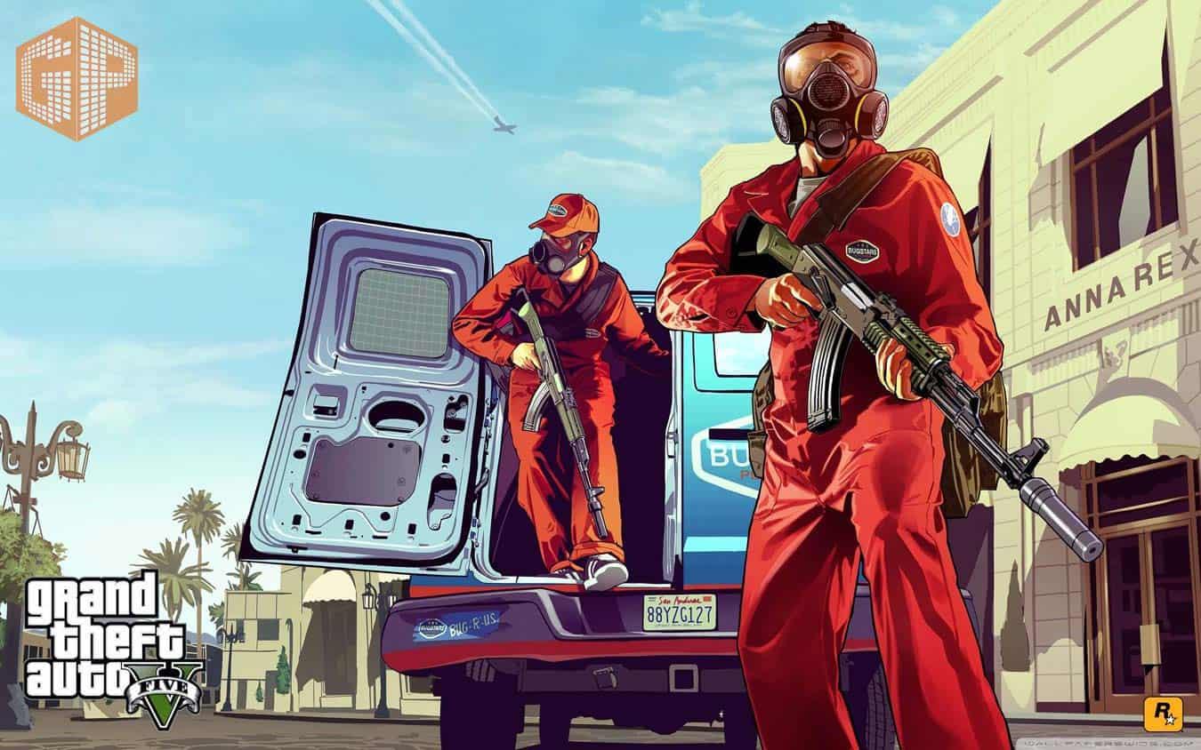 گیم پلی بازی GTA V