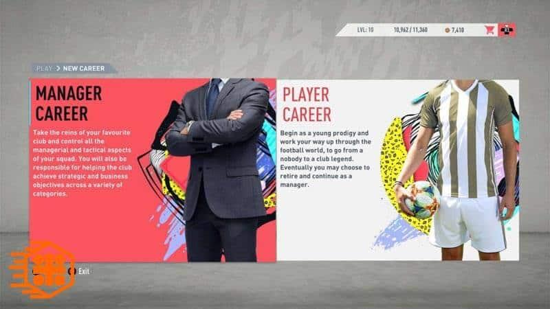 جزئیات بخش Career Mode در فیفا 20