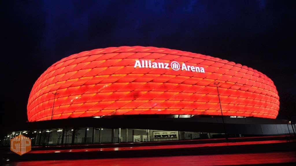 ورزشگاه Allianz Arena بایرن مونیخ در بازی PES 2020