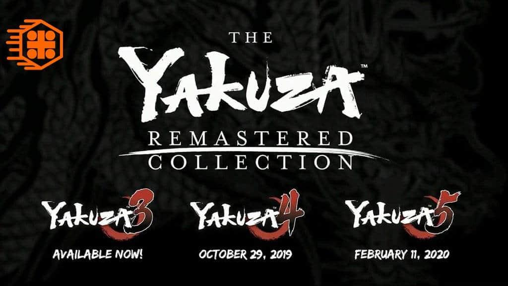 نسخه ریمستر یاکوزا 3، یاکوزا 4 و یاکوزا 5