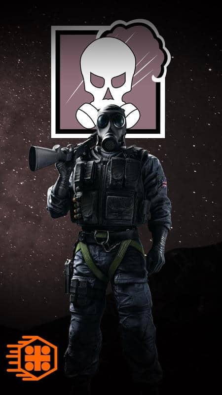 بیوگرافی Smoke اپراتور بازی RainbowSix