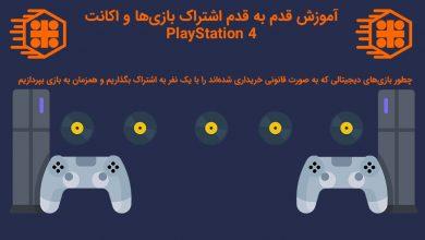 Photo of آموزش قدم به قدم اشتراک یا Share بازیها و اکانت پلی استیشن ۴