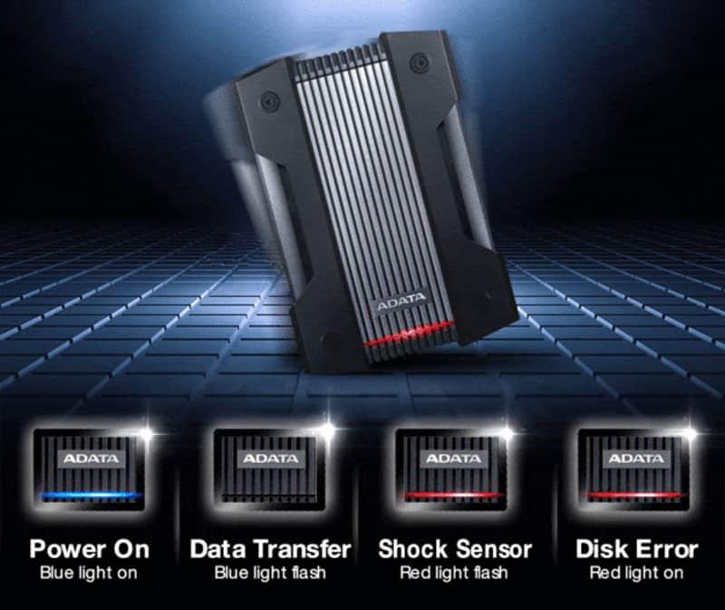 سنسور ضد شوک هارد اکسترنال ای دیتا مدل HD830