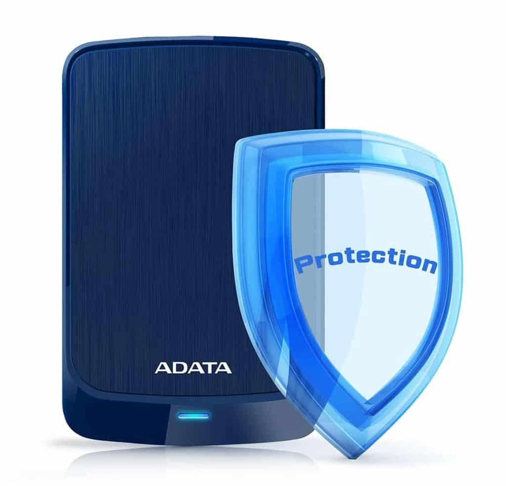 سیستم رمز نگاری هارد اکسترنال Adata مدل HV320