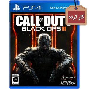 خرید دیسک کارکرده Call of Duty Black Ops 3 برای PS4