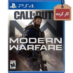 خرید دیسک کارکرده Call of Duty Modern Warfare برای PS4