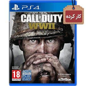 خرید دیسک کارکرده بازی Call of Duty WW2 برای ps4