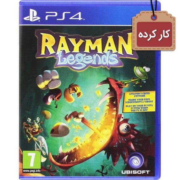 خرید دیسک کارکرده Rayman Legends باری PS4