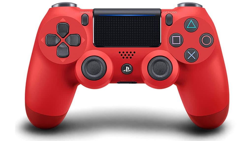 قابلیت های دسته قرمز رنگ PS4