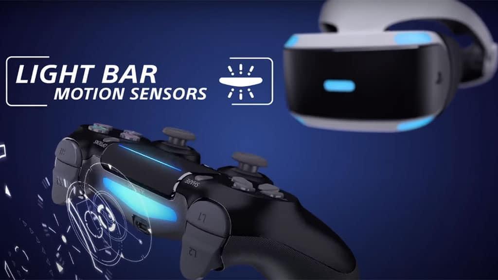 قابلیت سنسورهای حرکتی دسته دوال شاک 4 PS4 اسلیم