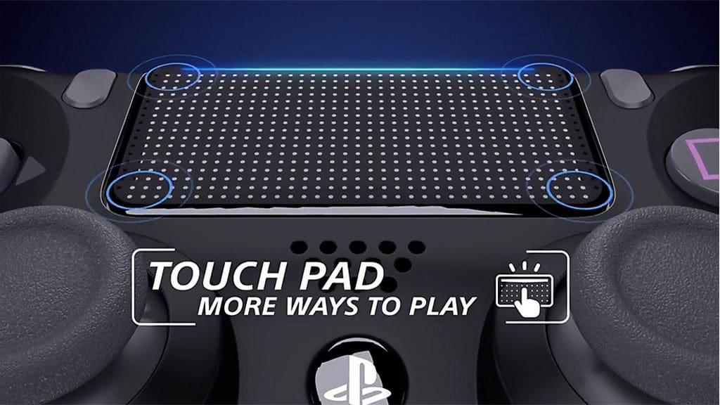 قابلیت تاچ پد کنترلر PS4 اسلیم
