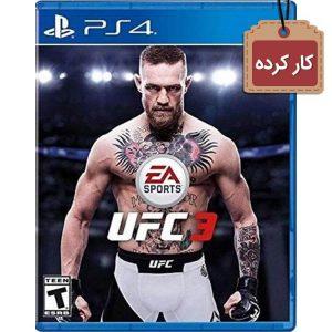 خرید بازی UFC 3 کارکرده برای ps4