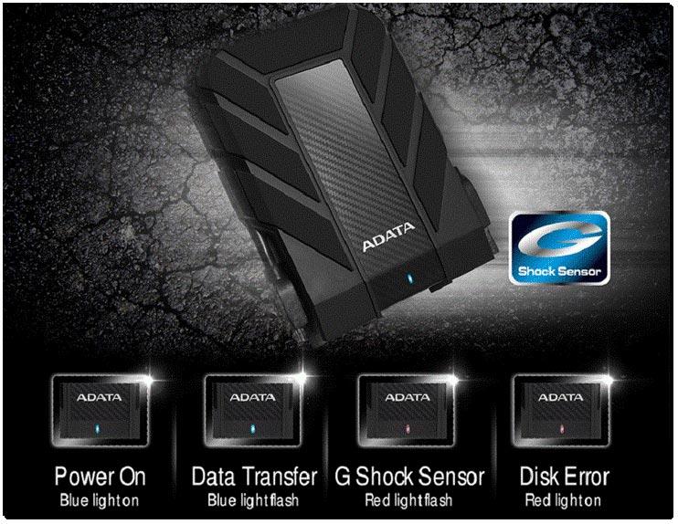هارد اکسترنال ADATA HD710 Pro مجهز به سنسور G Shock