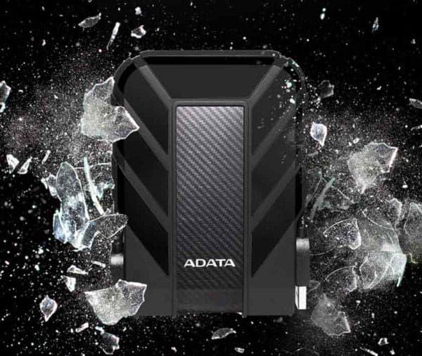 مقاومت در برابر ضربه هارد اکسترنال ADATA HD710 Pro