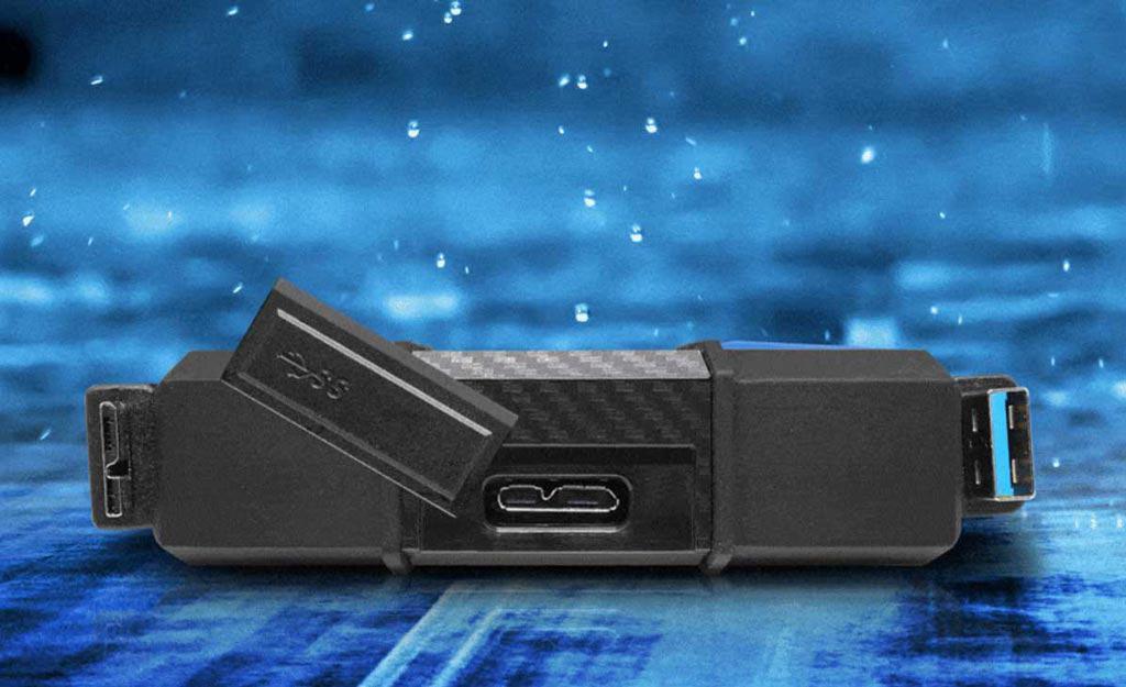 پروت آرگونومیک در هارد اکسترنال ای دیتا HD 710 Pro