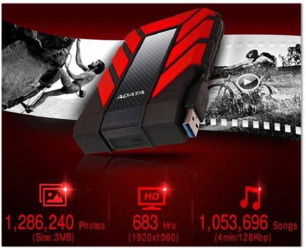 هارد اکسترنال ای دیتا HD710 Pro موجود تا ظرفیت 5 ترابایت