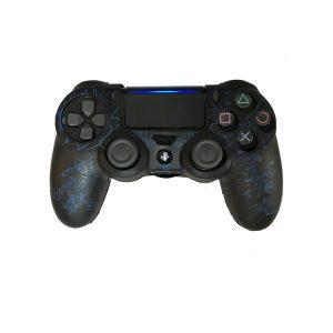 خرید کاور کنترلر DualShock 4 طرح God of War Blue