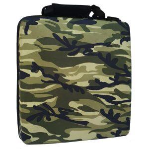 خرید کیف ضد ضربه PS4 Pro طرح Army Green