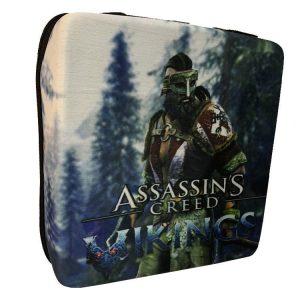 خرید کیف ضد ضربه PS4 Pro طرح Assassin's Creed Vikings